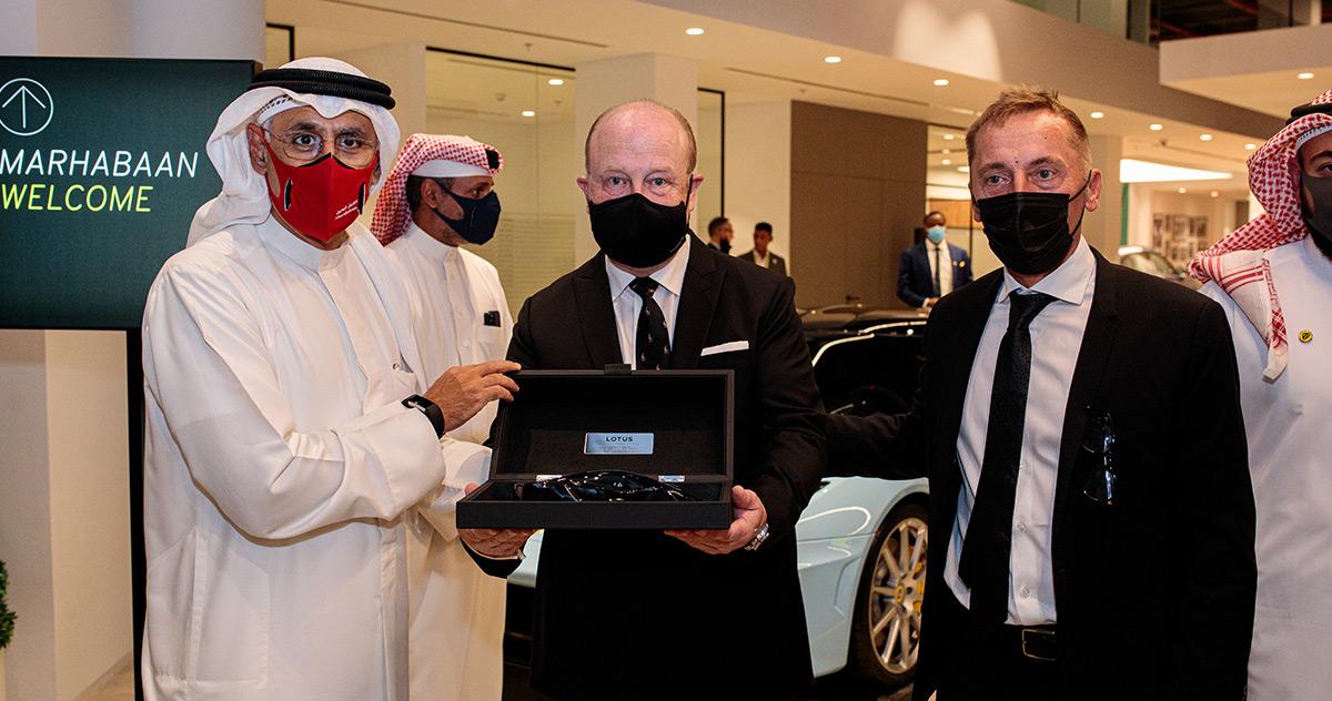 Lotus Cars Bahrain Opening Ceremony
